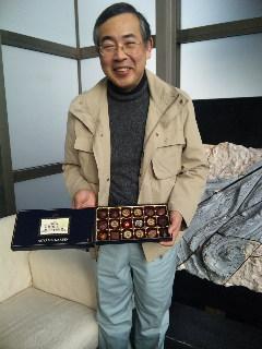昨年の(H22年11月14日)総会での箱根駅伝順位あてクイズ