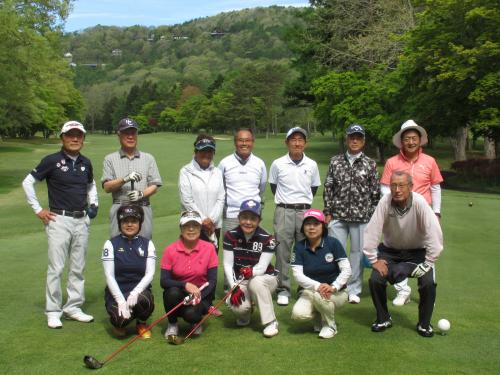 緑門会ゴルフコンペ開催