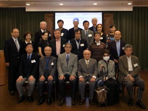仙波学長ご出席のもと、2015年度総会開催!