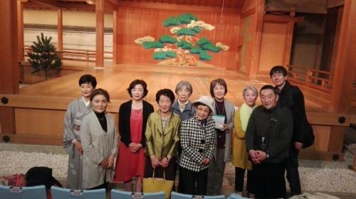 京都支部 能楽鑑賞会ご報告(2017年4月2日)