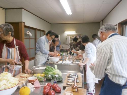 青山学院校友会料理教室に参加して