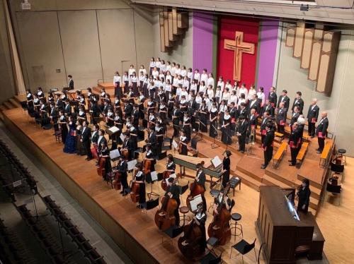 2018年度総会・大同窓会、第43回オール青山メサイア公演、無事に開催!