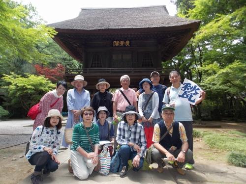 初夏の古美術を語ろう会「武蔵野の自然と古刹平林寺・正福寺」が開催されました(2019年5月19日)
