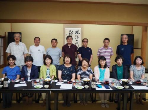 74・75年卒合同同期会を京都『三木半旅館』で開催!