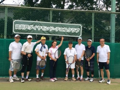 テニス同好会09月活動報告