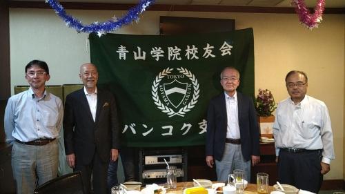 堀田理事長を迎え、年越しの懇親会