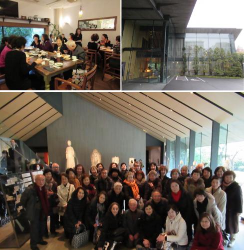 「ランチと根津美術館へのお誘い」開催報告