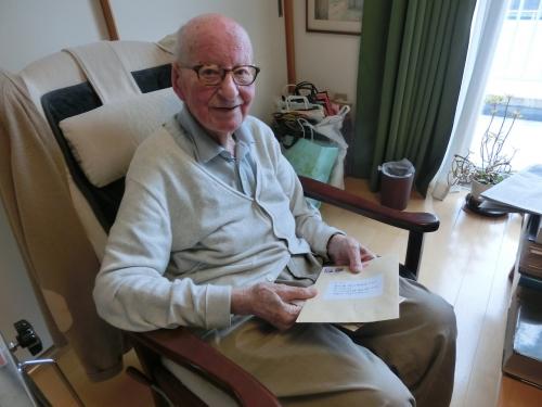 ウィルキンソン先生94歳のお誕生日