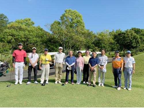 青山学院校友会静岡県西部支部ゴルフコンペ開催