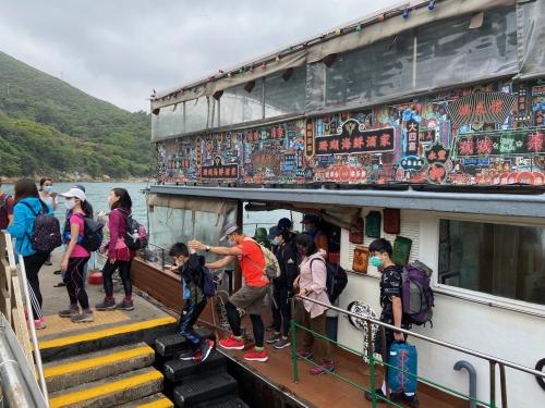 4月5日(月)東龍島ハイキング&鯉魚門海鮮料理ツアー開催報告